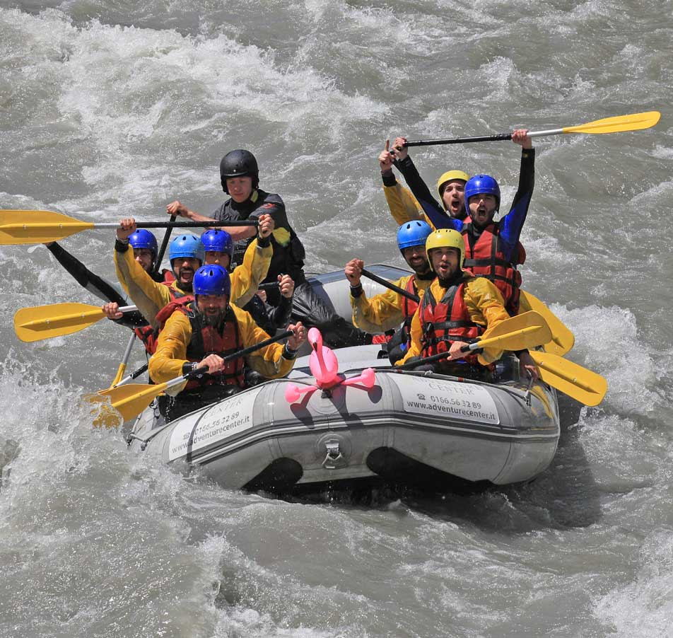centro rafting in Valle d'Aosta